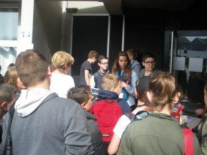 De nombreux élèves étaient au rendez-vous
